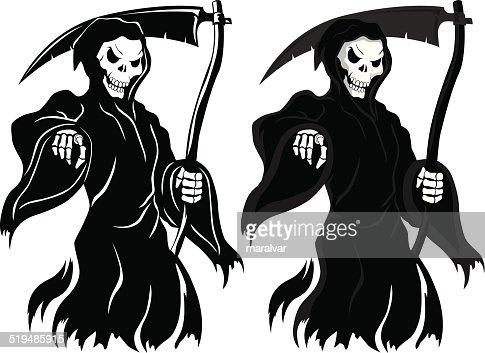 death grim reaper vector art getty images