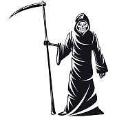 Death sign vector