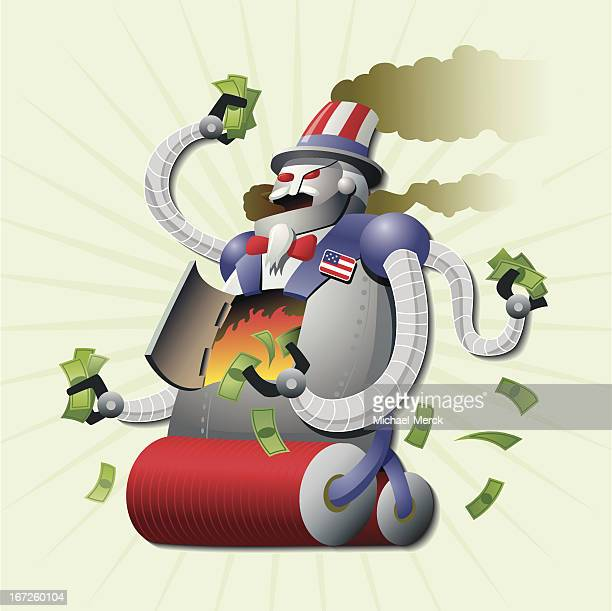 U.S. Debt Robot Monster