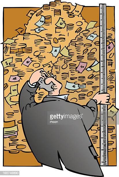 debt - money to burn stock illustrations, clip art, cartoons, & icons