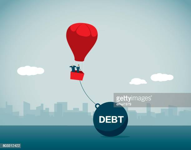 debt - fat female cartoon characters stock illustrations