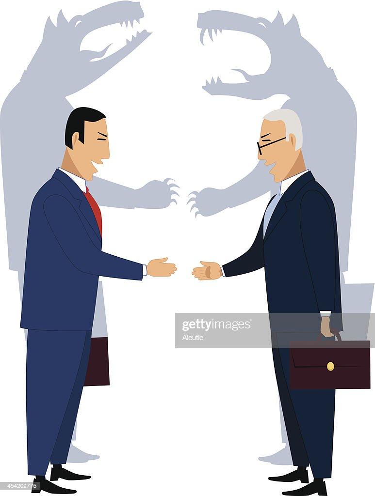 Deceiving businessmen