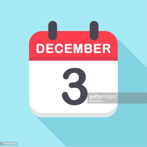 december 3 - calendar icon- new year - この撮影のクリップをもっと見る 2025 stock illustrations