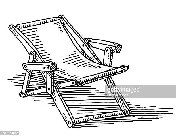 Deck Chair Drawing