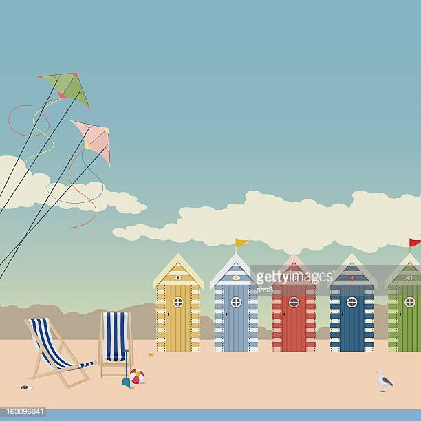 Deckchairs and Beach Huts