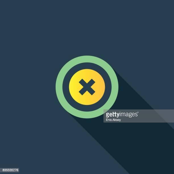 decline flat icon - deterioration stock illustrations, clip art, cartoons, & icons