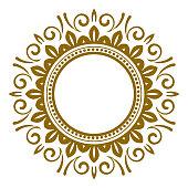 decorative art frame vector