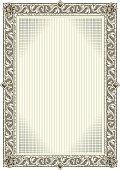 Decorative blank frame