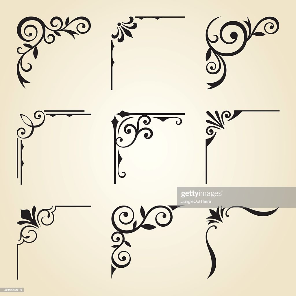Decorative Corner Frames