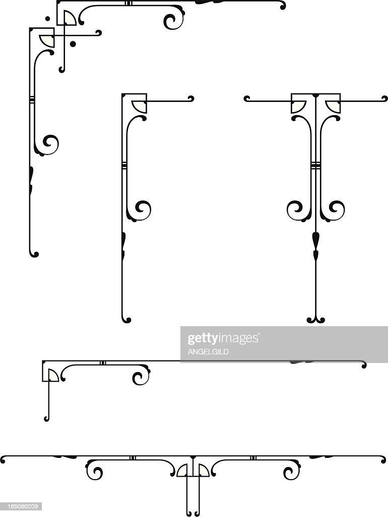 Decorative Design Elements : stock illustration