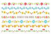 Decorative Floral Borders