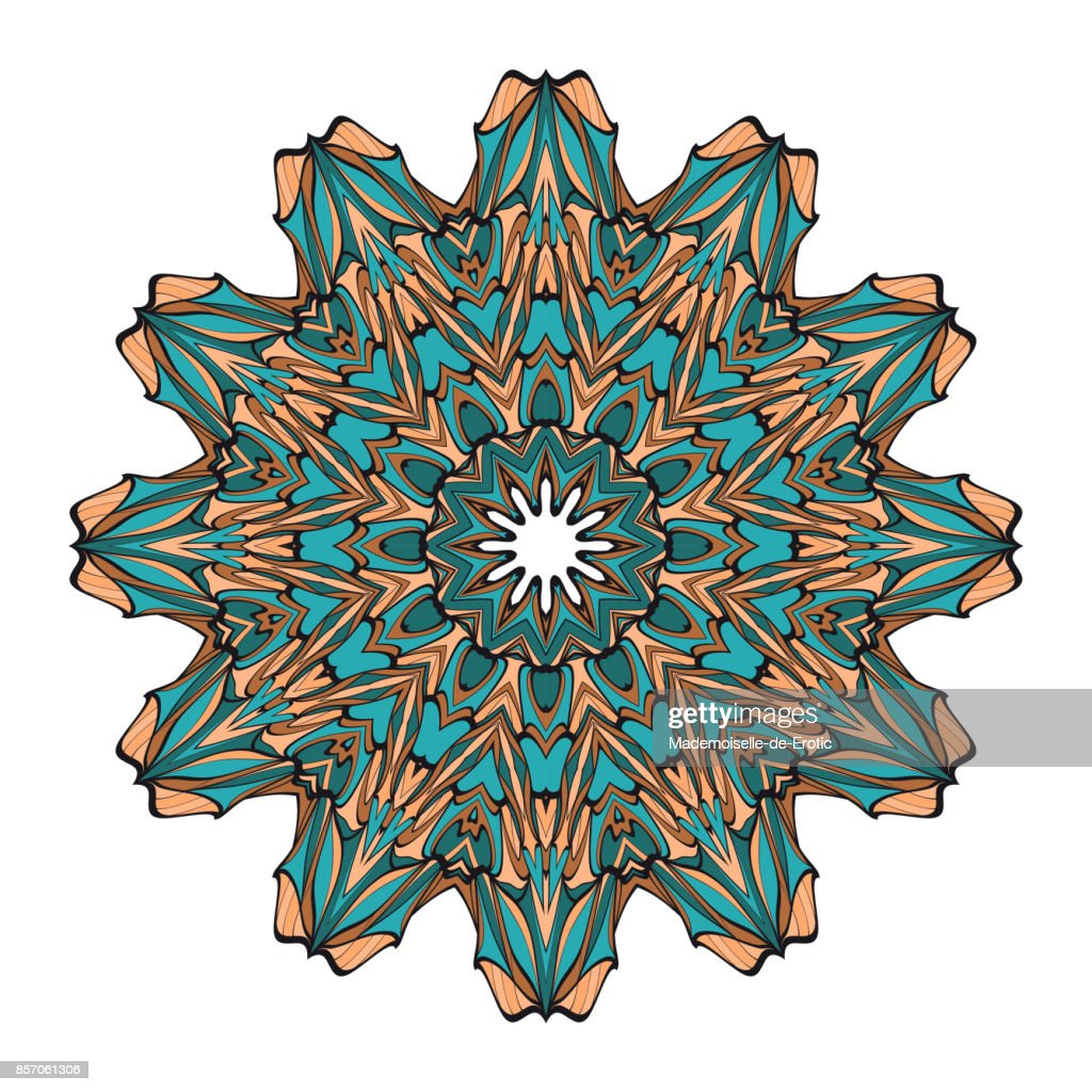 Decorative flower coloring mandala vector illustration for greeting decorative flower coloring mandala vector illustration for greeting card invitation tattoo stopboris Image collections
