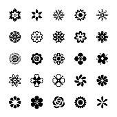 Decorative Flower Designs Icons