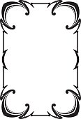 Decorative frame - Illustration