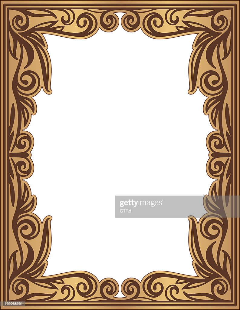 Decorative Frame Vector Art | Getty Images