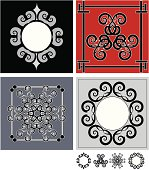 Decorative Gothic Accents ( Vector )