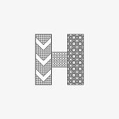 H Decorative Logo