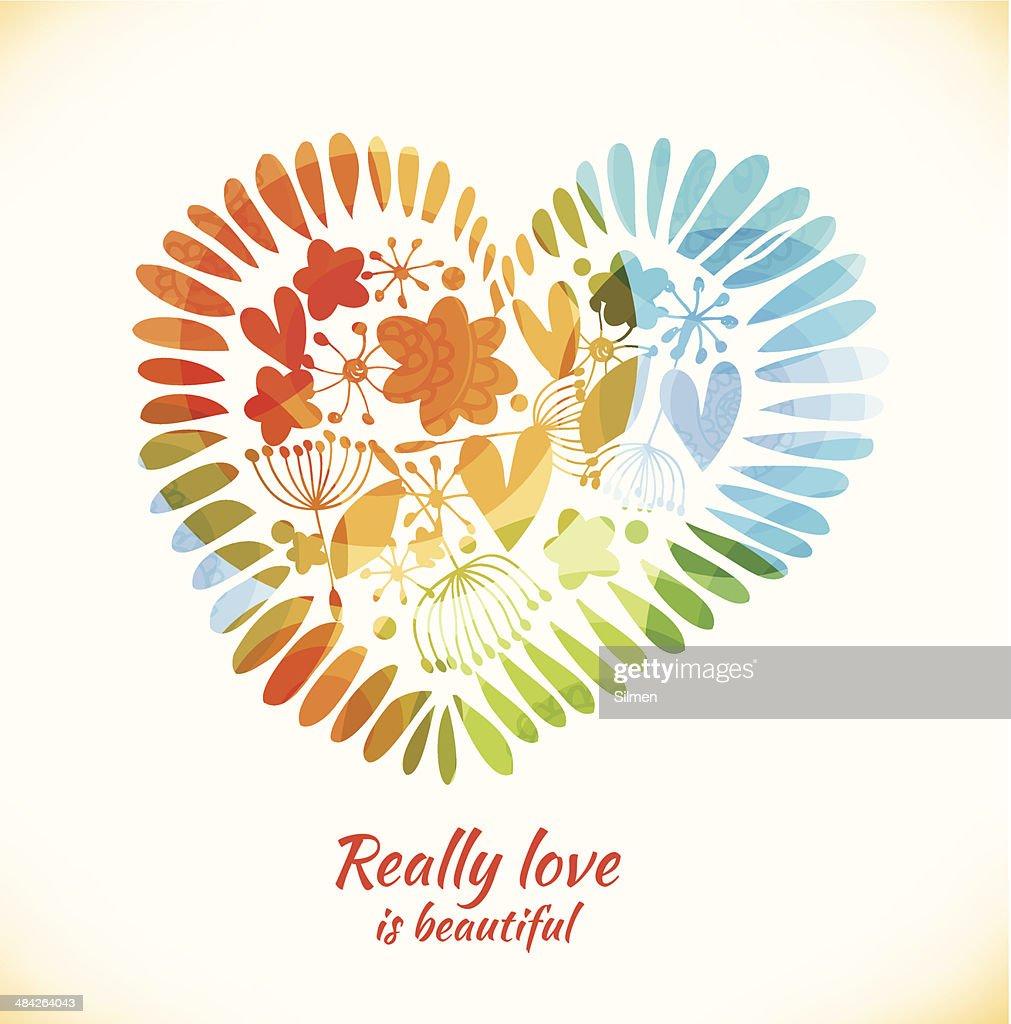 Decorative love banner