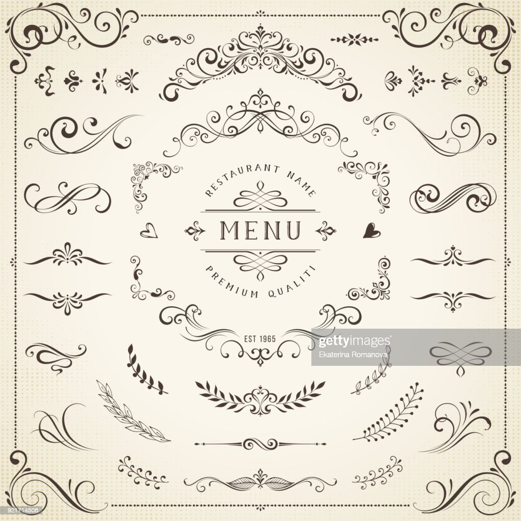 Decorative Ornate Elements