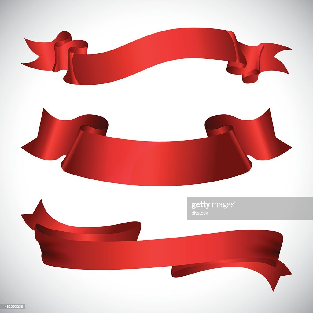 Decorative ribbon design.