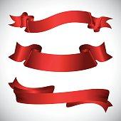Decorative ribbon design.