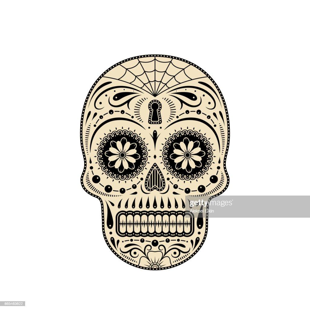 Decorative sugar skull