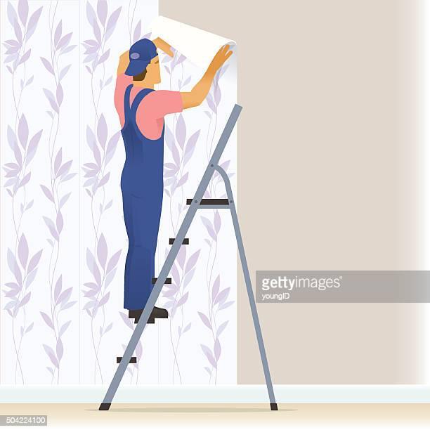 Dekorateur wallpapering
