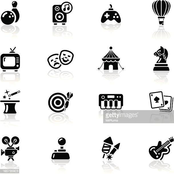 Deep Black Series   entertainment icons