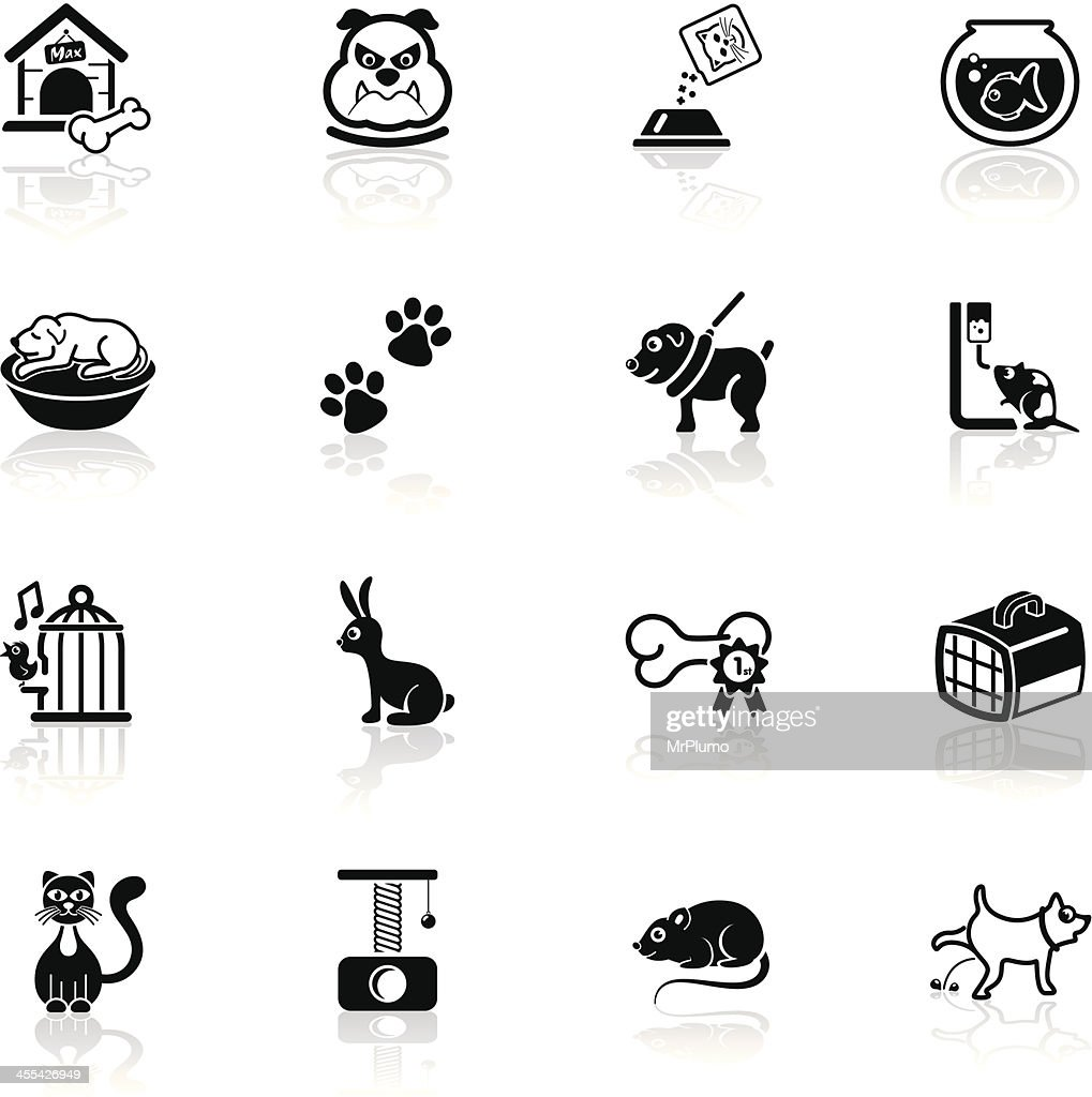 Deep Black Series | pets icons