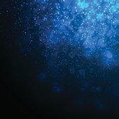 Deep Blue Abstract Underwater Background