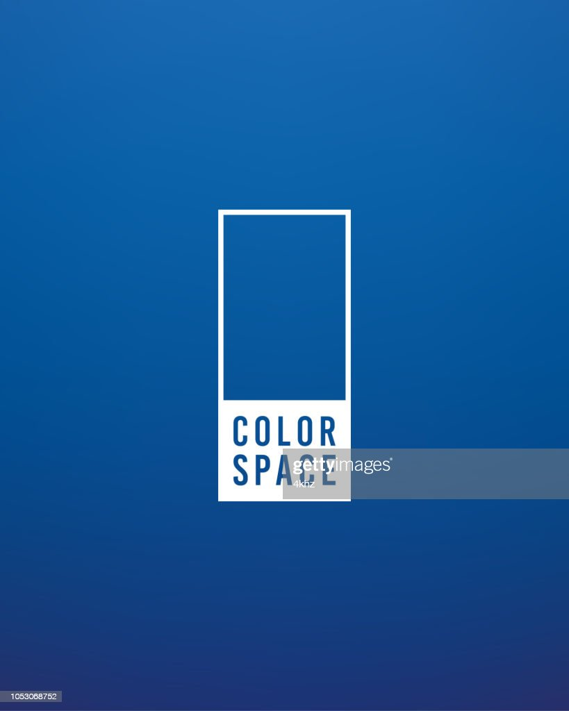 Deep Blue Basic Elegant Soft Color Space Smooth Gradient Vector Background