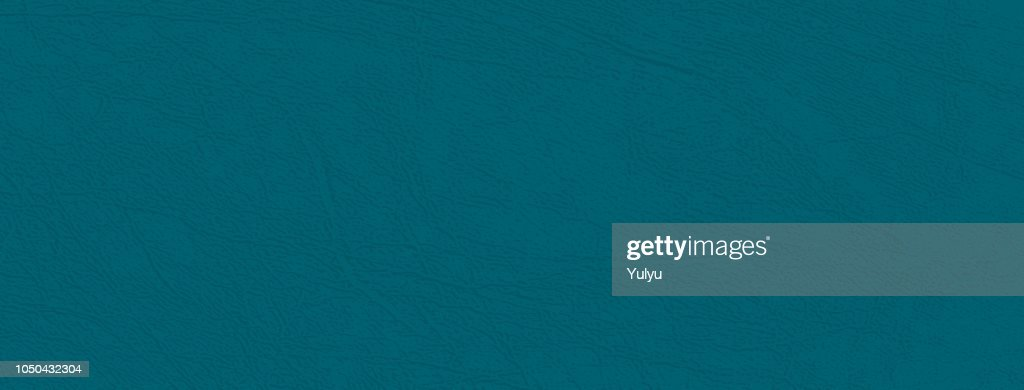 Deep blue-green vector skin texture, natural or faux leather background, closeup.