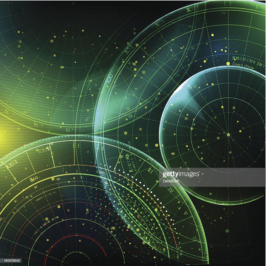 Deep Space : stock illustration