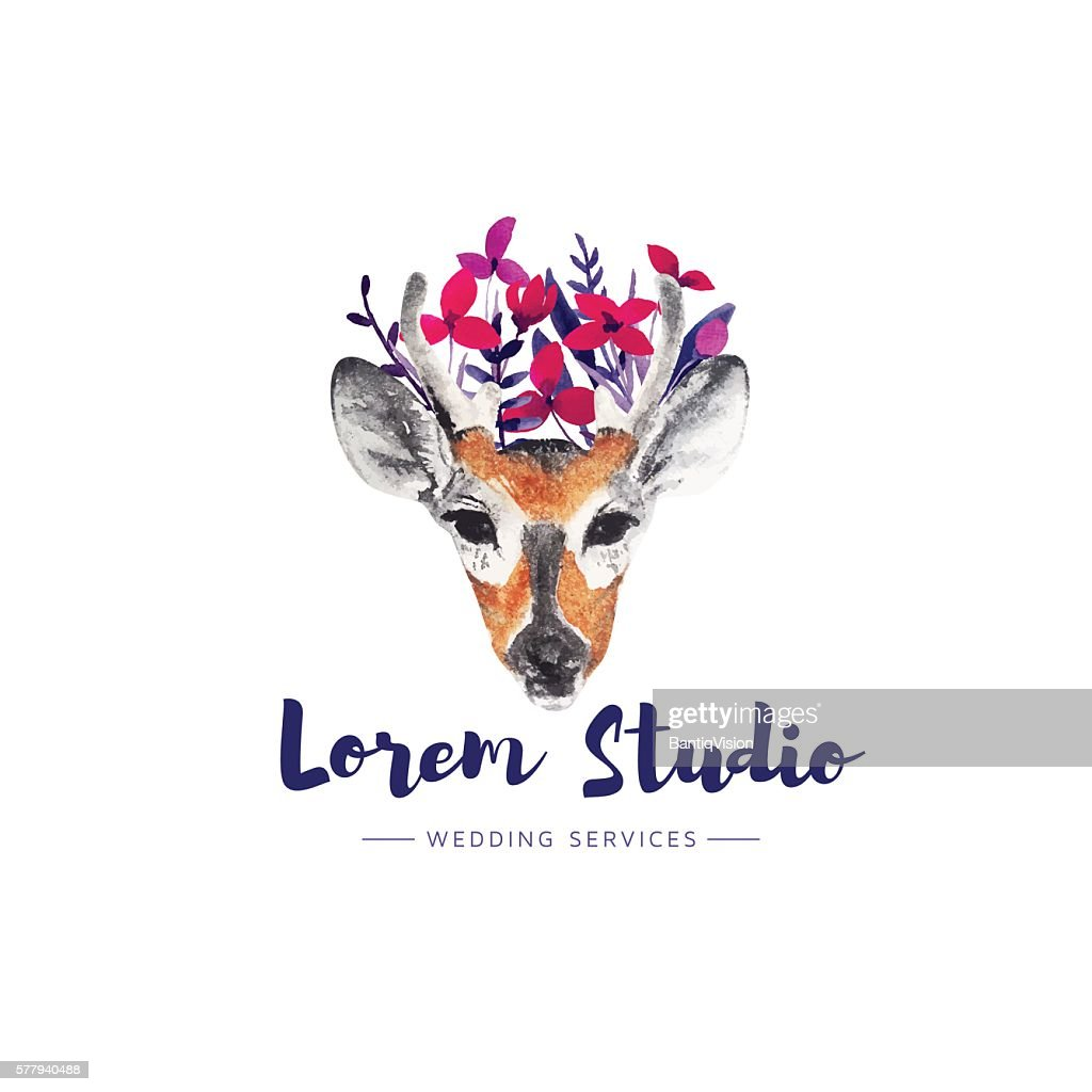 Deer logo.
