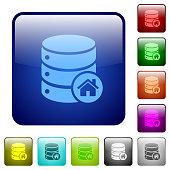 Default database color square buttons