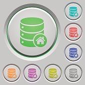 Default database push buttons