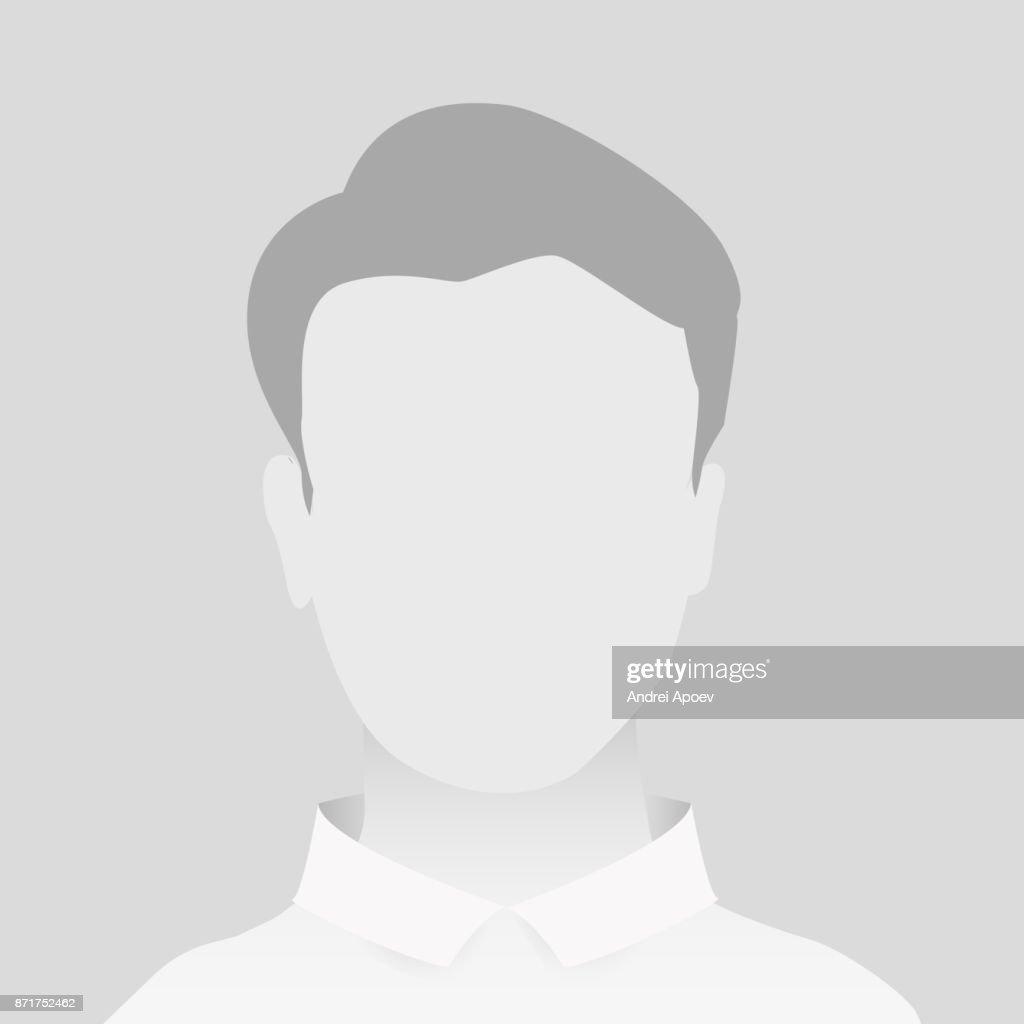 Default Gray Placeholder Man