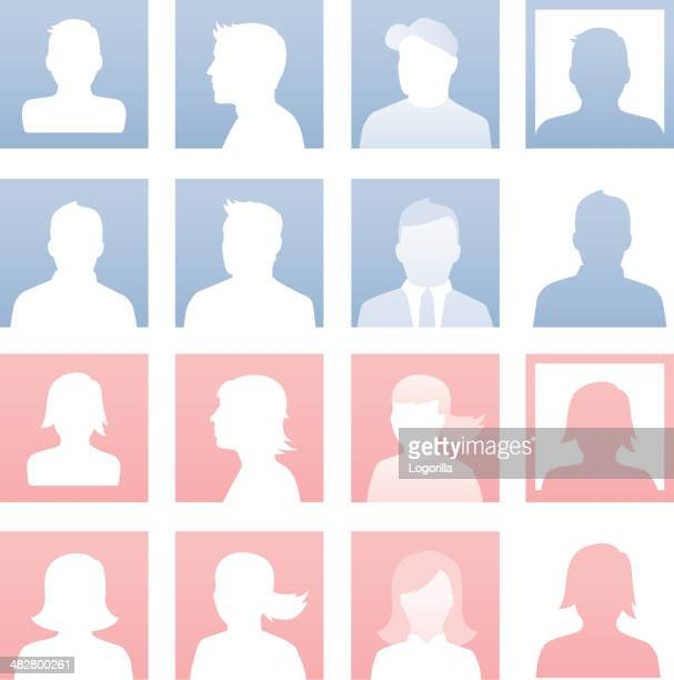 default users - males stock illustrations, clip art, cartoons, & icons