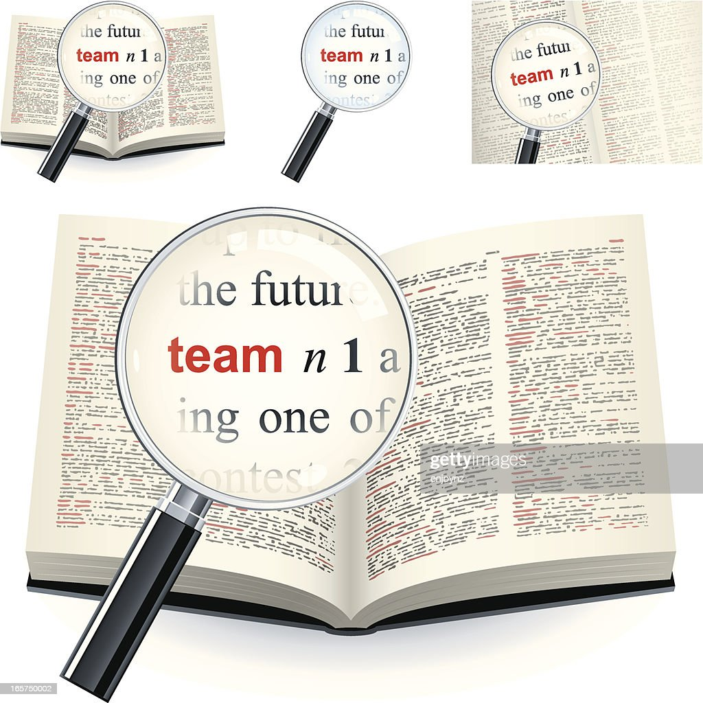 Definition of the word team in Dictionary