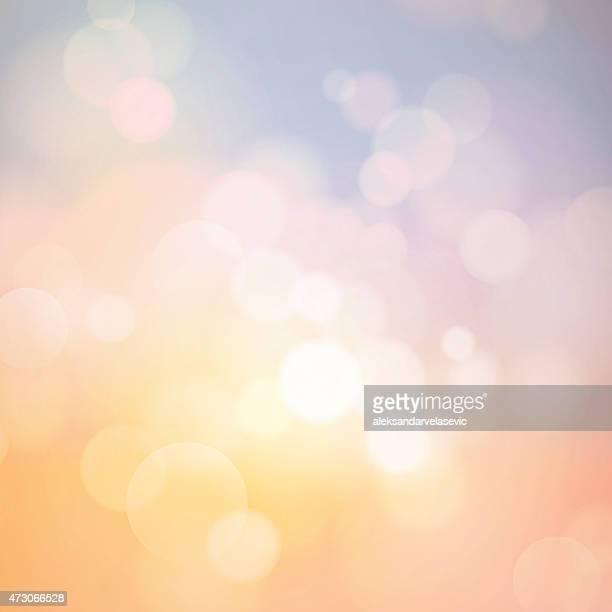 ilustraciones, imágenes clip art, dibujos animados e iconos de stock de desenfocado fondo abstracto - puesta de sol