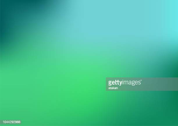 illustrazioni stock, clip art, cartoni animati e icone di tendenza di defocused abstract blue and green background - immagine mossa