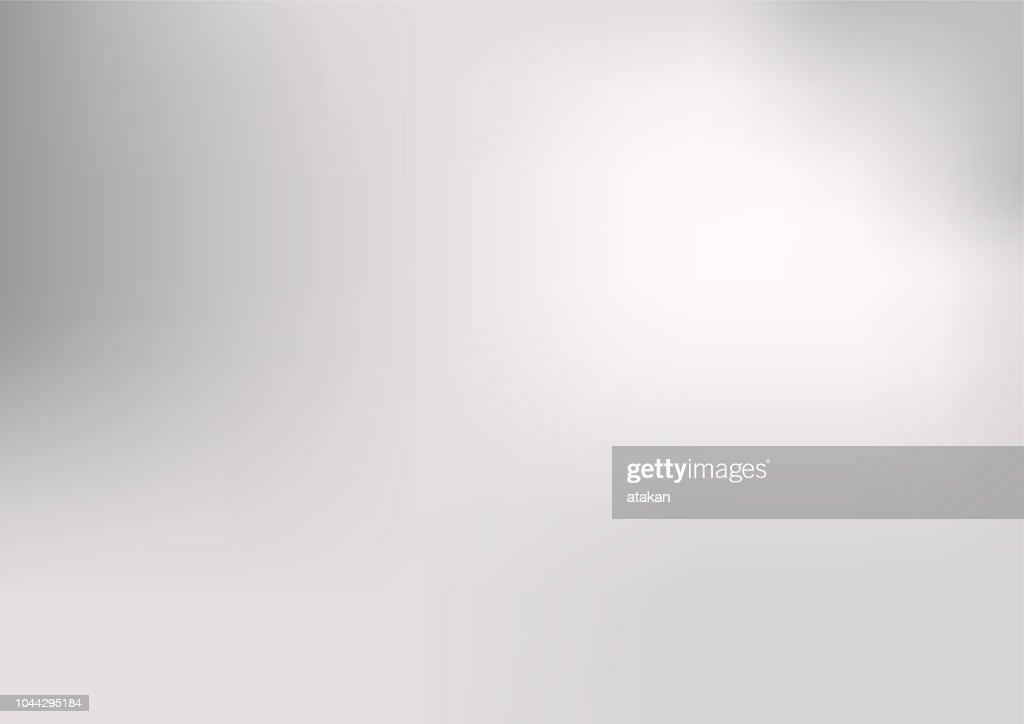 Defokussierten abstrakte grauen Hintergrund : Stock-Illustration