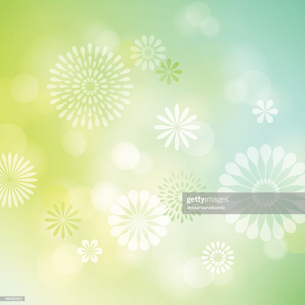 Defocused Flower Background