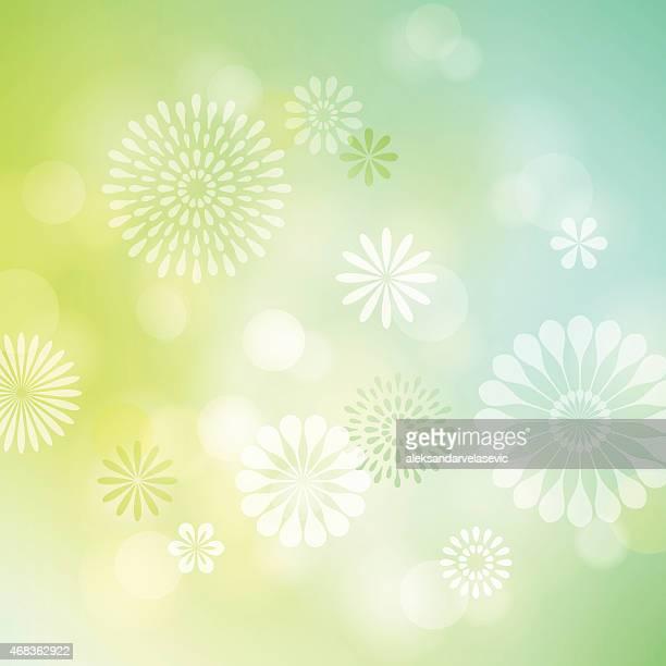 Defocused Flower Background