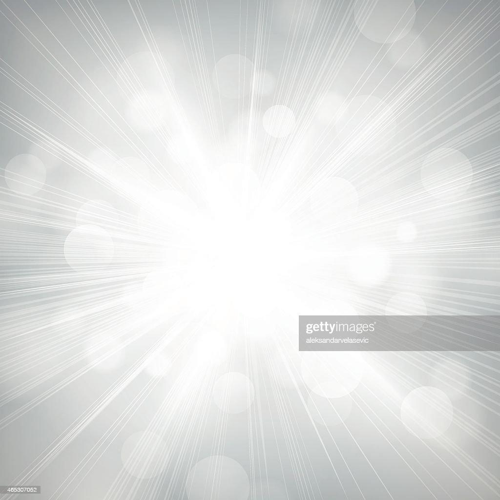 Unscharf gestellt Lichter Burst Hintergrund : Stock-Illustration