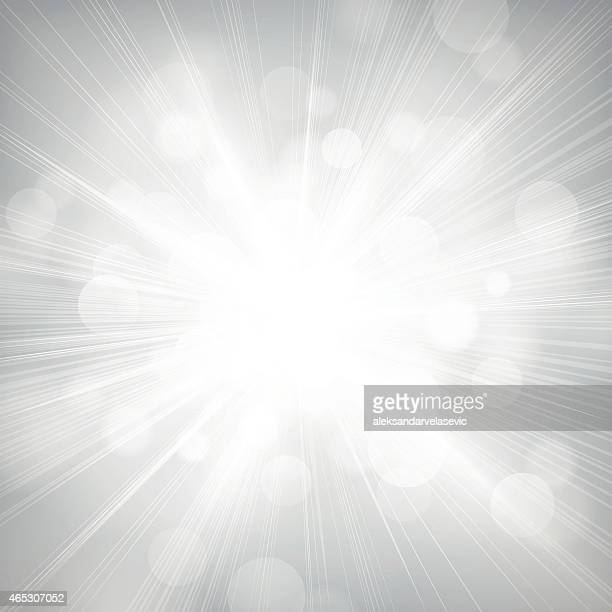 defocused lights burst background - light natural phenomenon stock illustrations, clip art, cartoons, & icons