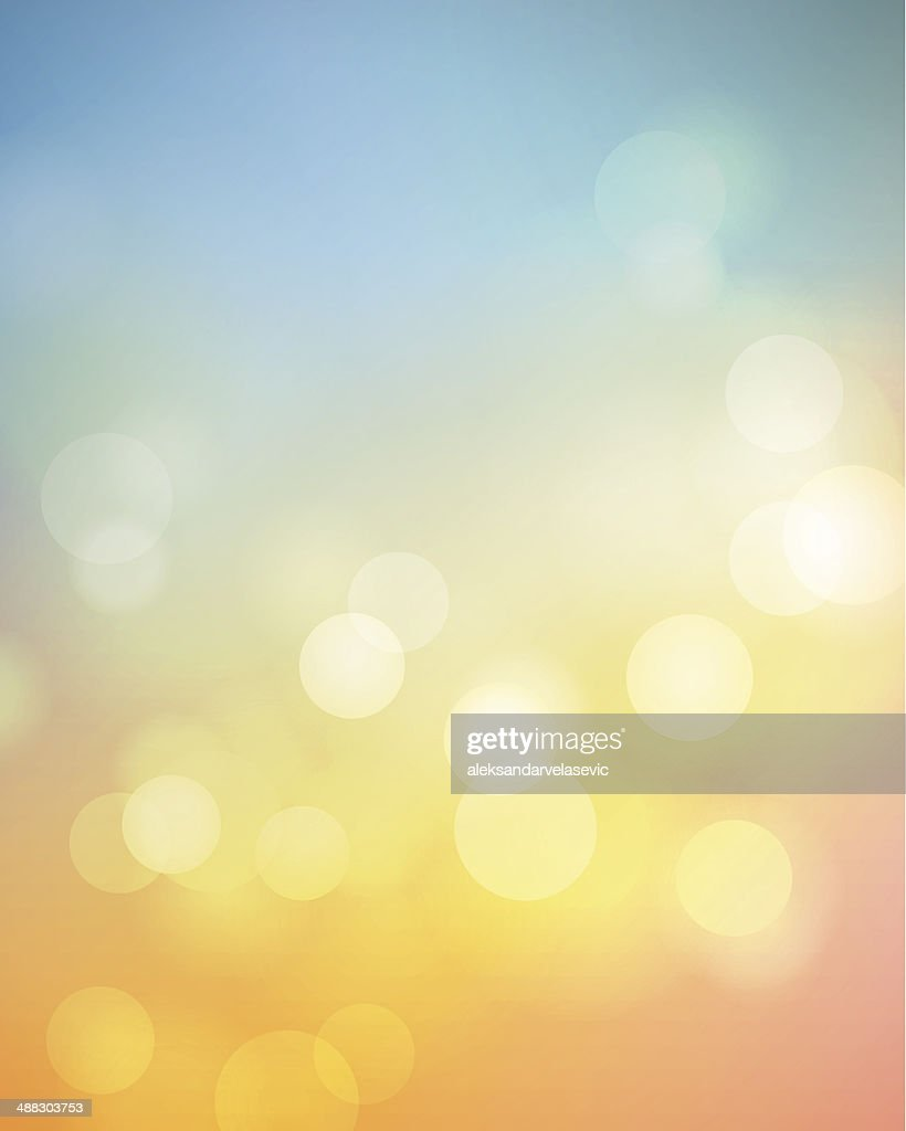 Defocused Summer Background