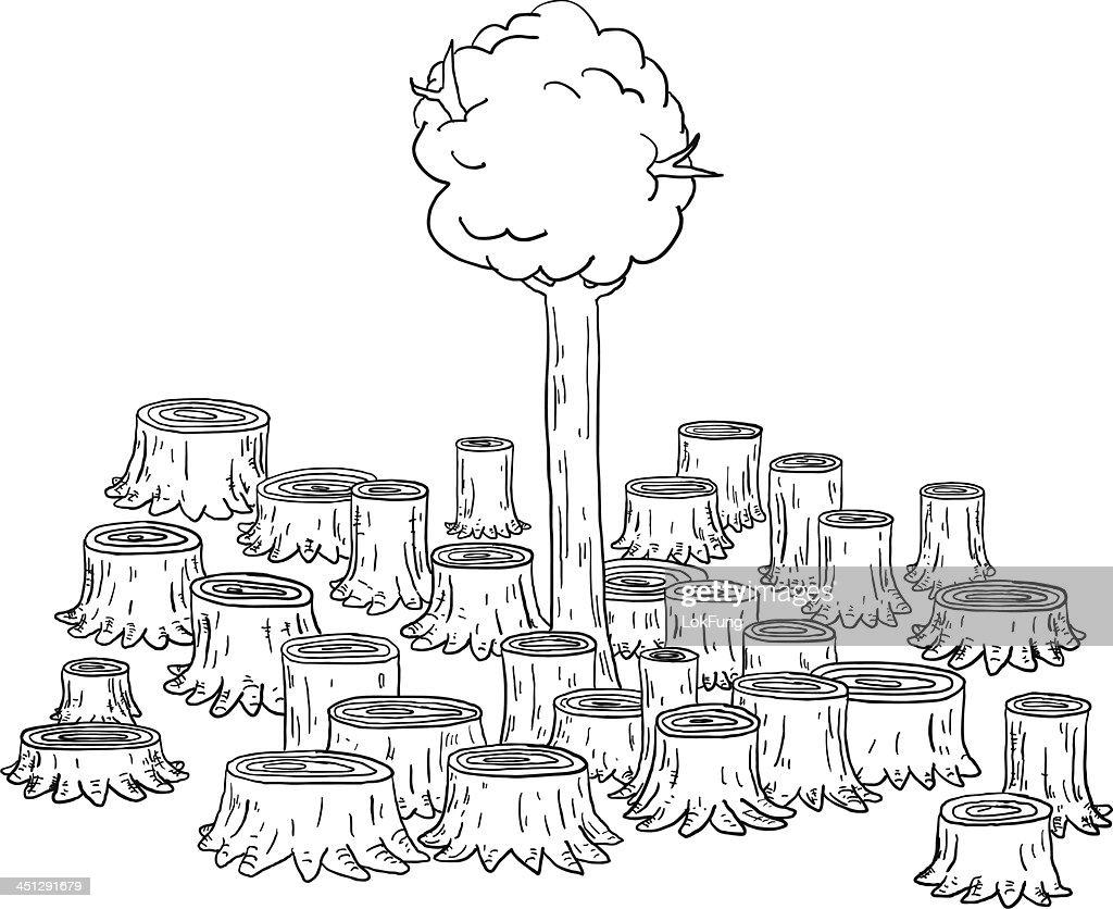60 top deforestation stock illustrations clip art cartoons