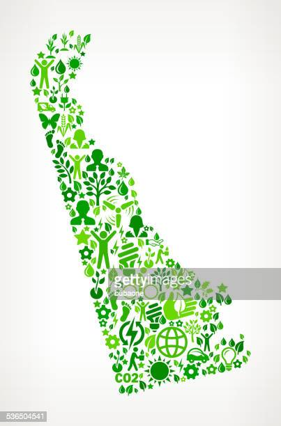 delaware state environmental conservation and nature interface icon pattern - delaware us state stock illustrations, clip art, cartoons, & icons