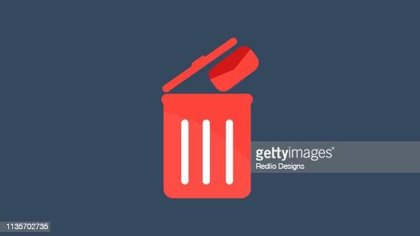 電子メールの削除アイコン - 迷惑メール点のイラスト素材/クリップアート素材/マンガ素材/アイコン素材